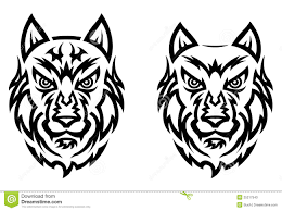 100 tribal wolf face tattoo tribal wolf tattoo ideas