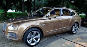 custom bentley bentayga 2017 bentley bentayga puts the