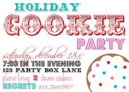 party invitations appealing cookie party invitations designs