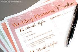 wedding planning planner free printables wedding planning binder botanical paperworks