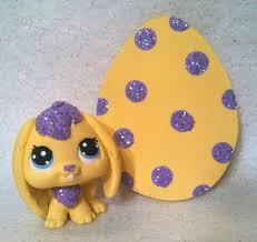 littlest pet shop easter eggs easter egg hunt my custom lps littlest pet shop lps