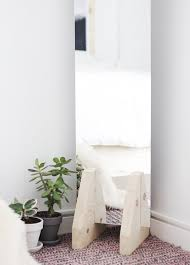 Miminal by Diy Minimal Floor Mirror The Merrythought