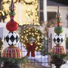 Holiday Outside Decorations 13 Outdoor Christmas Decoration Ideas Stylish Outside Christmas