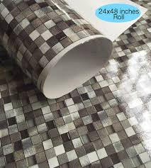 Vinyl Wall Tiles For Kitchen - wall tile decals vinyl sticker waterproof wallpaper by snazzydecal