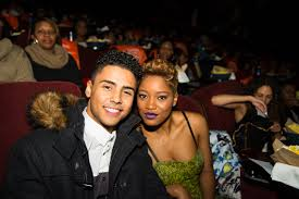 keke palmer and quincy at the advanced screening of brotherly love