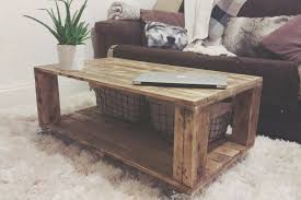 coffe table cool how to make a coffee table from a pallet decor