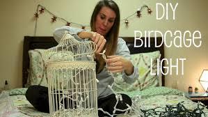 bird cage decoration birdcage light decor