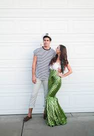 Mermaid Costume Halloween Halloween Costume Couples Costume Mermaid Costume Mermaid