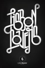 vector typography tutorial awesome typography works by andre beato
