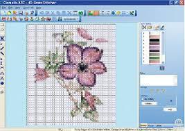 cross stitch pattern design software pfaff 5d cross stitcher create cross stitch embroidery designs