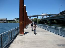Map My Ride Portland by Waterfront Bike Path To Springwater Corridor Path Oregon