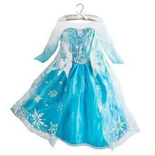 wholesale child clothes gambar frozen elsa dress kids