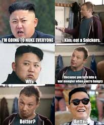 Kim Jong Un Snickers Meme - snickers kim jong un and psy know your meme