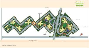 site plan of bptp freedom park life gurgaon apartments flats in