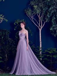 wedding dresses lavender lavender gown with pleated tulle purple wedding dress