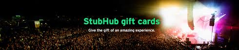 sell my gift card for instant stubhub