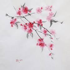 sakura sakura flowers drawing pinterest drawings