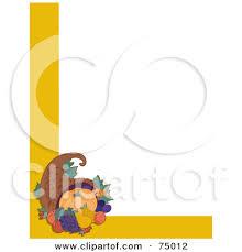 blank thanksgiving cornucopia clipart cliparthut free clipart