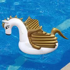 toysplash inflatable pegasus float