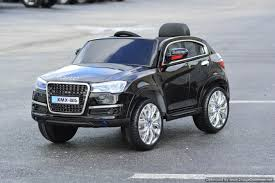 Audi Q7 Night Black - amazon com new audi q7 style electric ride on car for children