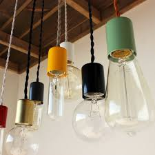 Color Cord Pendant Light 333 Best Lighting Images On Pinterest Outdoor Lighting Glass