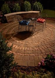 Patio 45 Patio Pavers 5 Want To Make A Perfectly Round Backyard Patio Create This Look