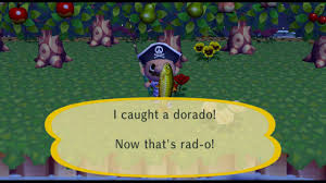 animal crossing city folk catching a dorado completing list