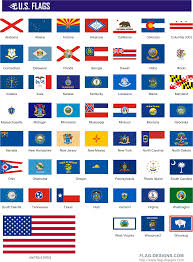 Map Of The 50 United States by State Flags 50 U S Flags Vector Clipart Vector Images