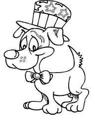 dog coloring animals town animals color sheet dog free