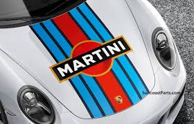 martini design suncoast porsche parts accessories martini racing design decal set