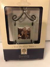 hallmark family tree ornament frames ebay