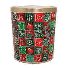 christmas tins wholesale popcorn tins popcorn gift baskets jody s goumet popcorn