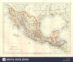 Central America Map Labeled by Mexico U0026 Central America Guatemala British Honduras Nicaragua