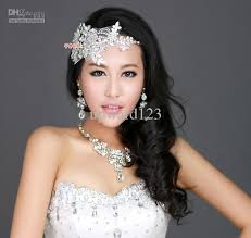 lace headwear 2013 new beautiful bridal jewelry earrings necklace and