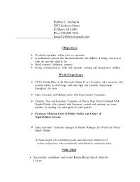 Resume Sales Associate Eureka U0027s Retail Resume