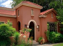 the perfect paint schemes for house exterior red roof wall