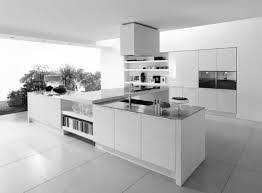 Kitchen Excellent Modern Kitchens With White Cabinets For Your - Contemporary white kitchen cabinets