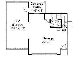 Rv Garage Floor Plans Rv Garage Plans Rv Garage Plan With Flex Recreation Room Design