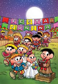 New Turma da Monica - Festa Junina @NK44
