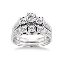 Wedding Rings Sets At Walmart by Walmart Com Keepsake Royal 1 1 2 Carat Diamond Bridal Set