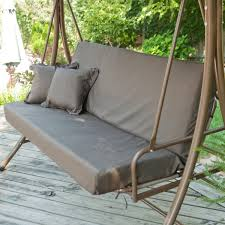 Swing Cushion Replacements by Patio Swing Chair Bed Patio Swing Chair Interesting Patio
