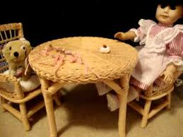 american table and chairs review on american doll samantha s table and chairs youtube