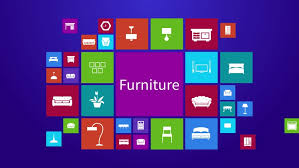 Subjects Of Interior Designing Trendy Computer Or Mobile Application App Program Of Flat