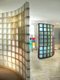 separation de cuisine en verre brique de verre cuisine affordable cloison de discrtion
