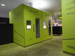 in the napcab the sleeping cabin at the munich airport decor