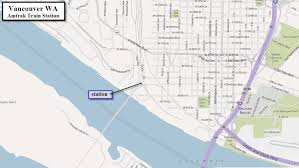 Map Of Vancouver Washington by Portland Or Railfan Guide Up U0027s Albina Yard Area