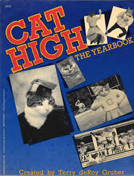 cat yearbook cat high the yearbook terry deroy gruber 9780865531161