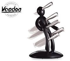 kitchen knives block set raffaele iannello voodoo kitchen knife block set with five knives