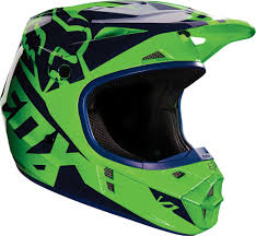 blue motocross helmet 2016 fox racing v1 race helmet motocross dirtbike mx atv ece dot