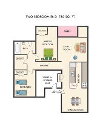 floor plans oakview apartments 2 bedroom 1 bath